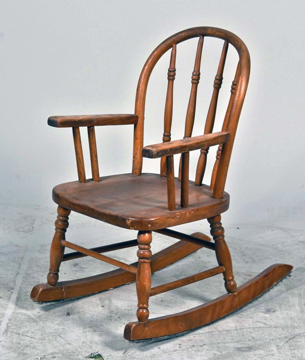 Child Wooden Rocking Chair Small Child S Wooden Rocking Chair