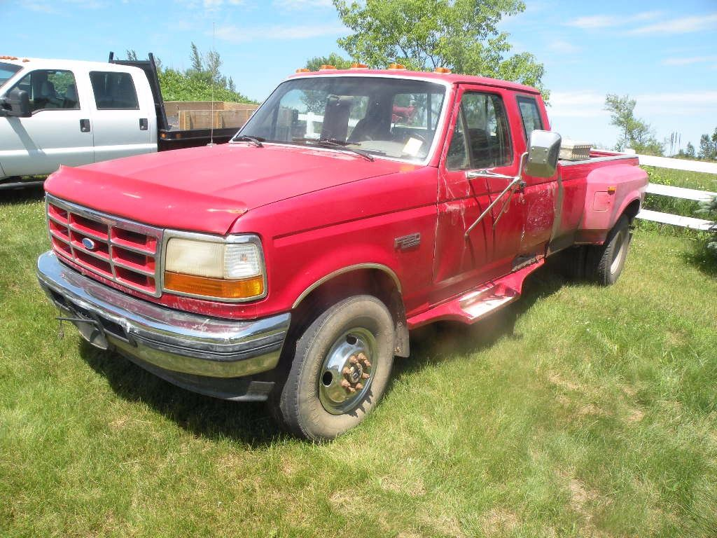 small resolution of image 1 1993 ford f 250 diesel salvage title sn 1fthx26m0pka65482