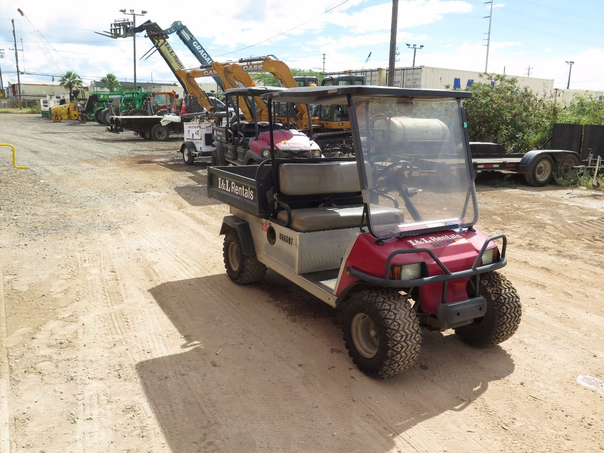 small resolution of  image 3 2007 club car xrt900 industrial utility gas golf cart manual dump bed