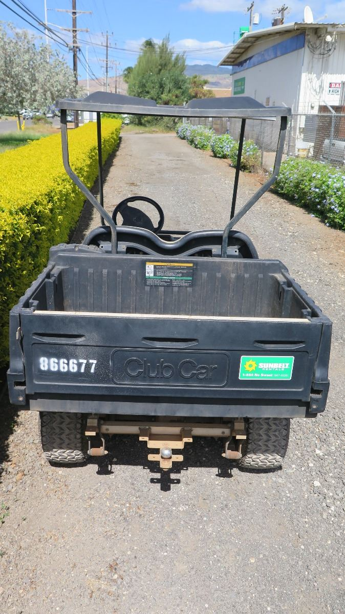 hight resolution of  image 3 2012 club car carryall turf 232 industrial utility gas golf cart has