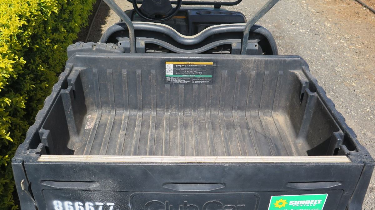 hight resolution of  image 5 2012 club car carryall turf 232 industrial utility gas golf cart has
