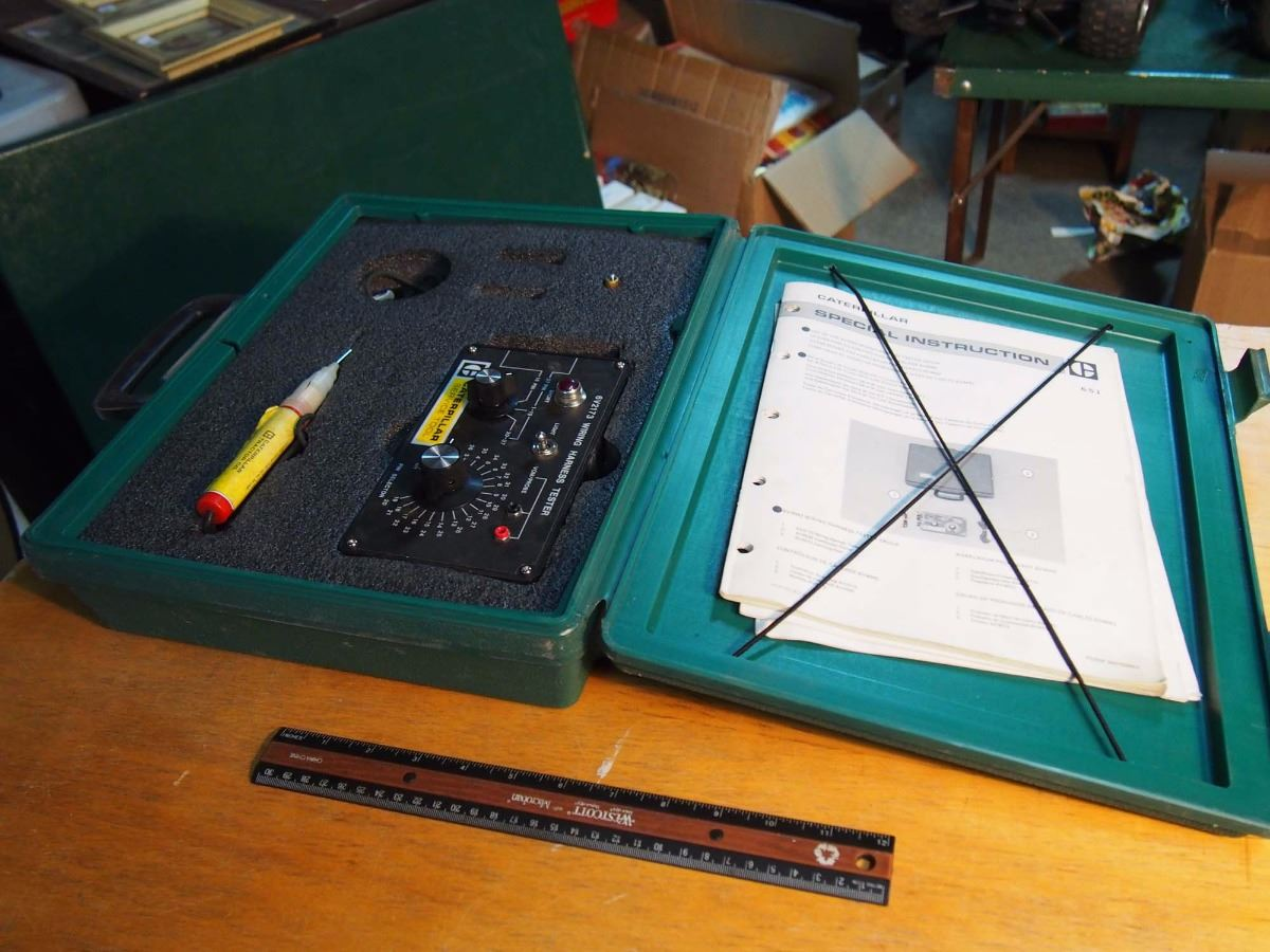 small resolution of image 1 caterpillar service tool wiring harness tester group