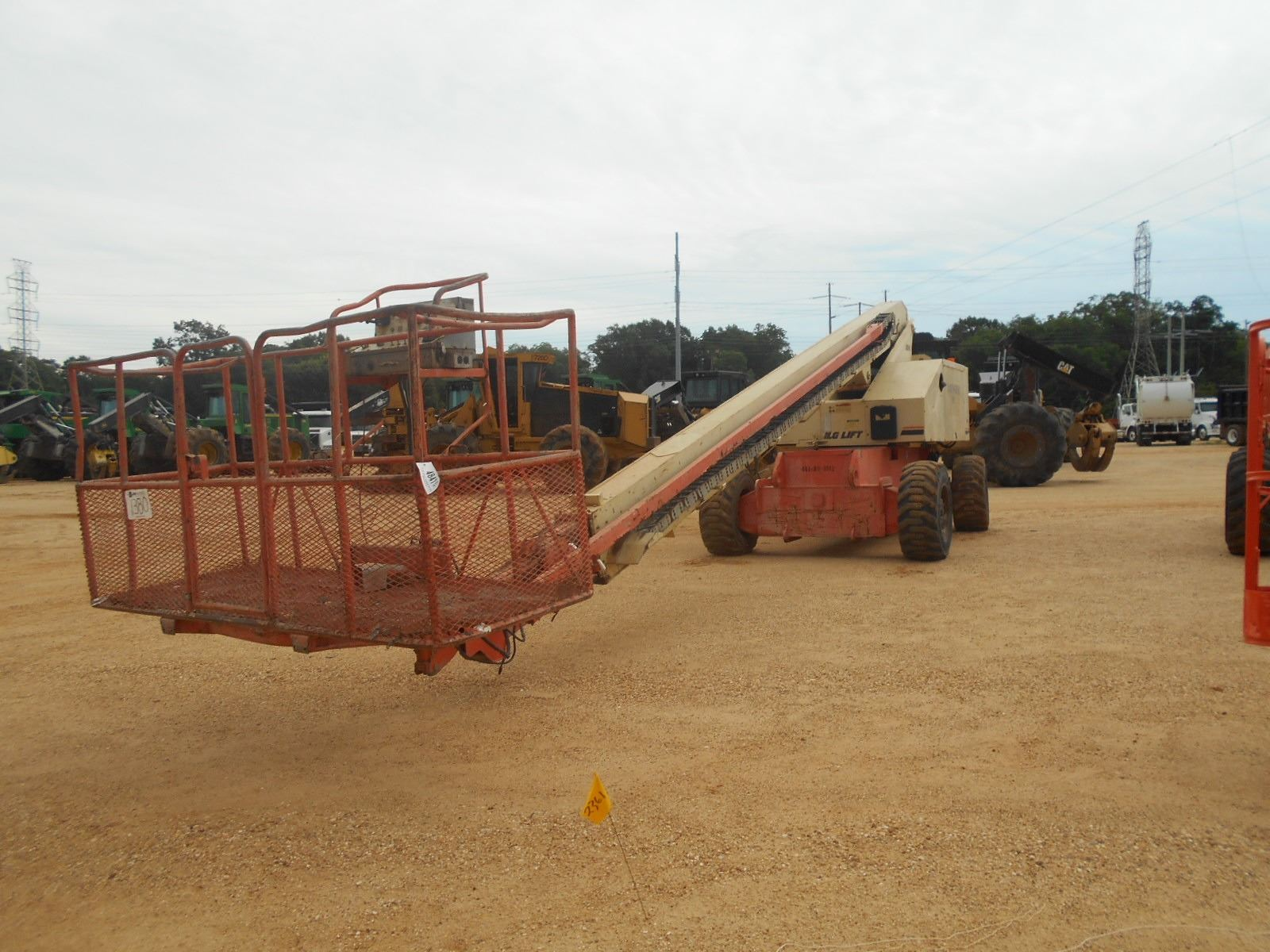 hight resolution of image 1 jlg 80hx manlift vin sn 0300061312 4 x4