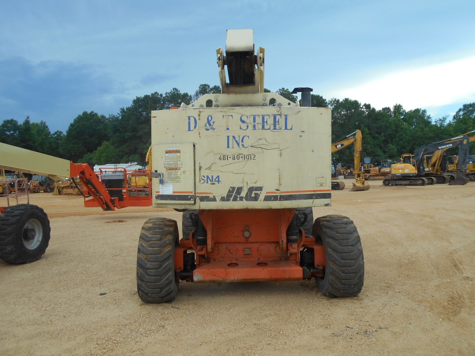 small resolution of  image 5 jlg 80hx manlift vin sn 0300061312 4 x4