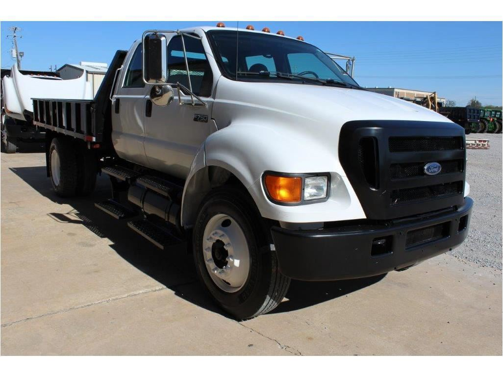 hight resolution of  image 2 2005 ford f750 flatbed truck sn 3frnw75fx5v190708 crew cab