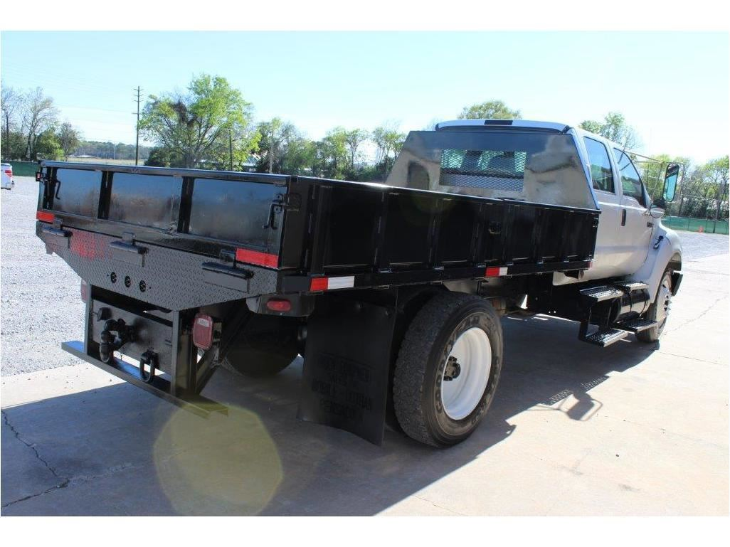 hight resolution of  image 3 2005 ford f750 flatbed truck sn 3frnw75fx5v190708 crew cab