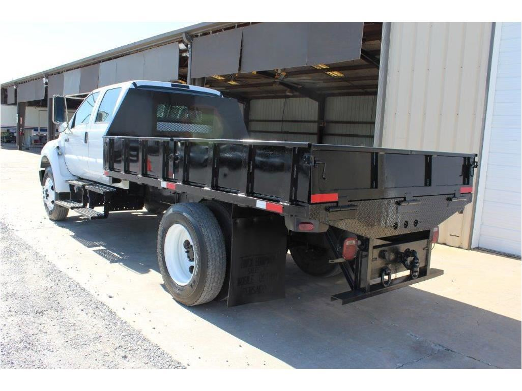 small resolution of  image 4 2005 ford f750 flatbed truck sn 3frnw75fx5v190708 crew cab