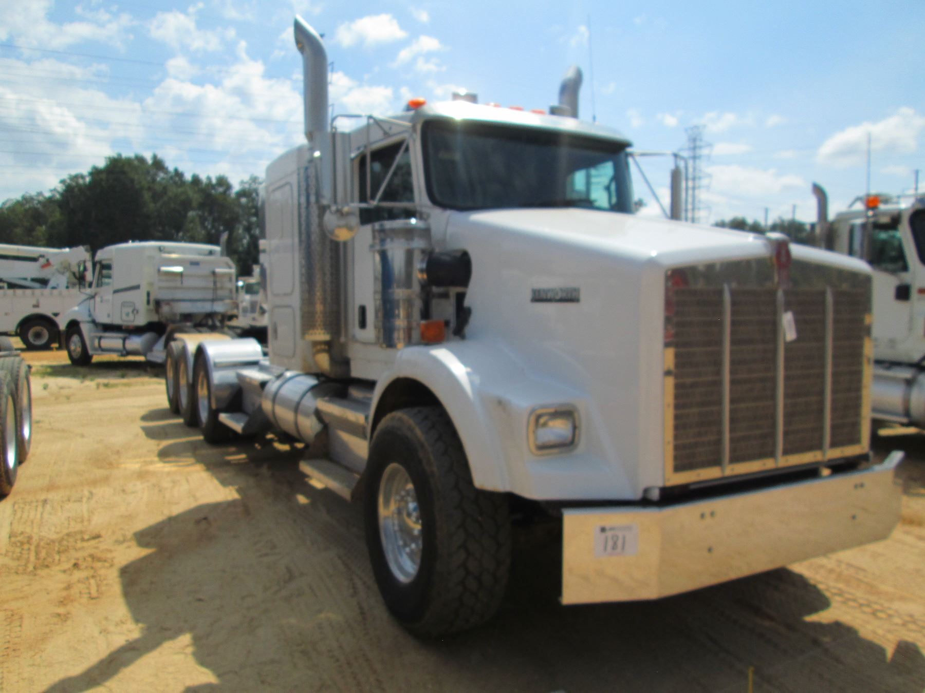 hight resolution of  image 2 2008 kenworth t800 truck tractor vin sn 1xkdp4tx48j216764 tri