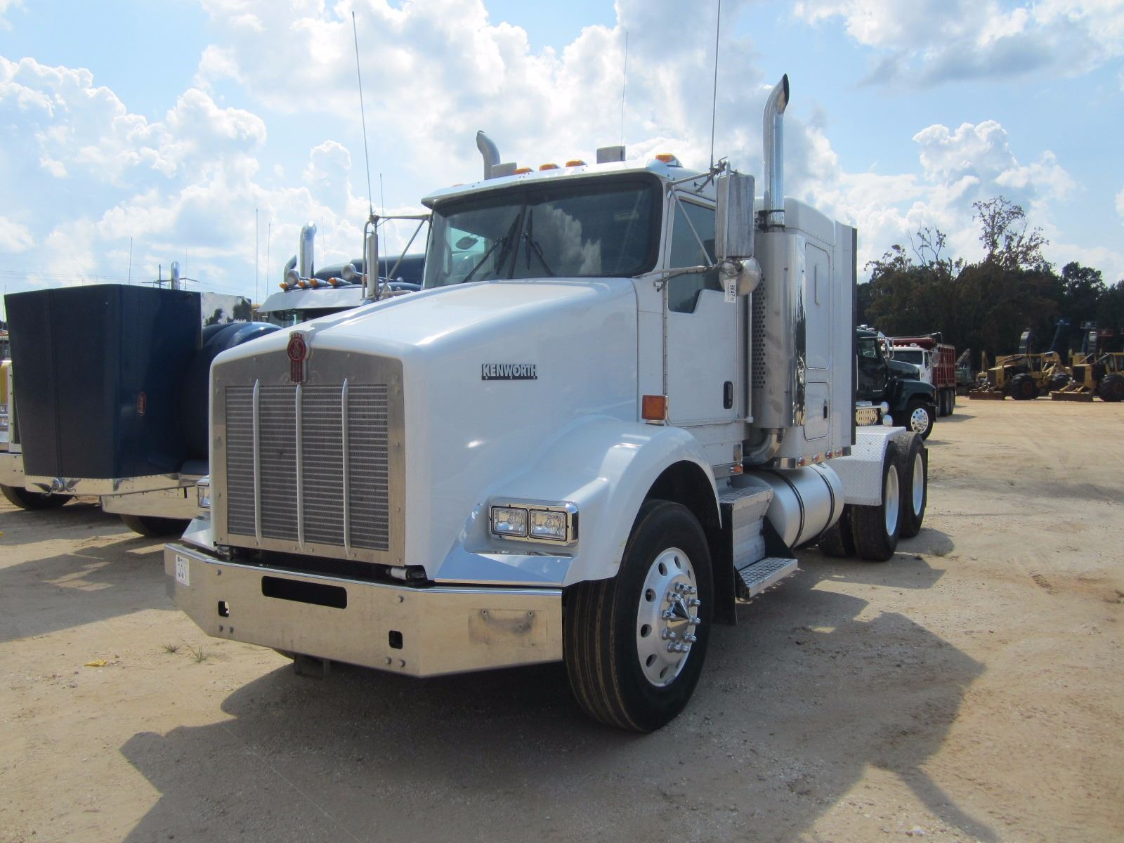 hight resolution of image 1 2006 kenworth t800 truck tractor vin sn 1xkddb9x16j54273 t