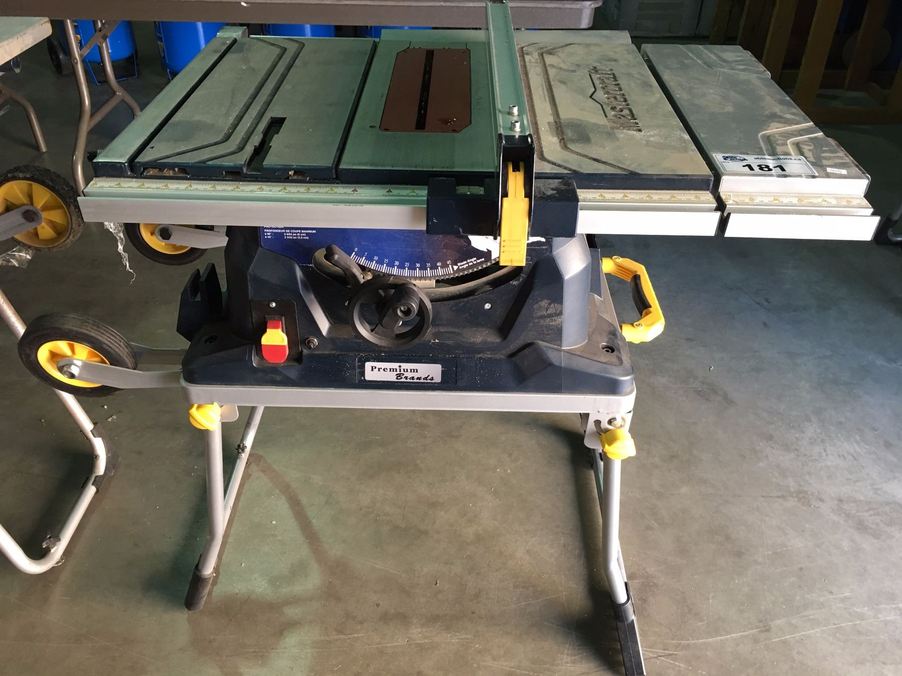 mastercraft 10 table saw with fold roll stand some parts mastercraft 10 inch table saw parts mastercraft 10 table saw diagram [ 1800 x 1350 Pixel ]