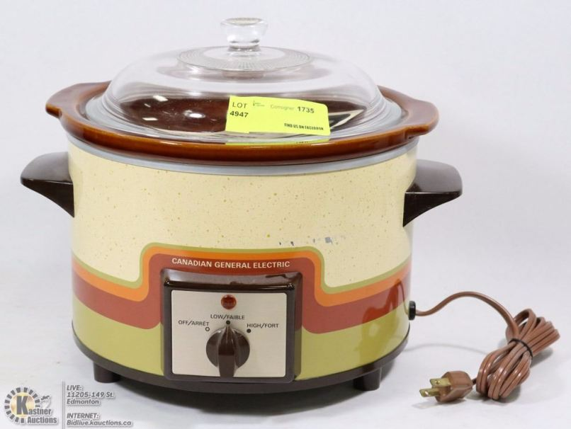 Canadian General Electric Slow Cooker