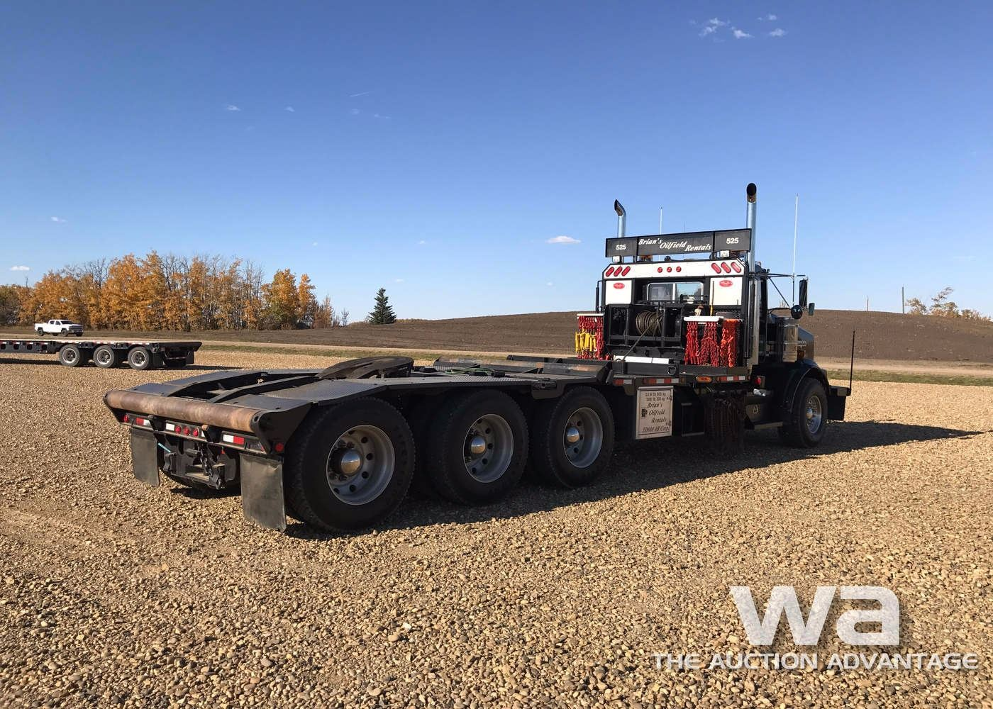 small resolution of  image 3 2007 kenworth t800 tri drive texas bed truck