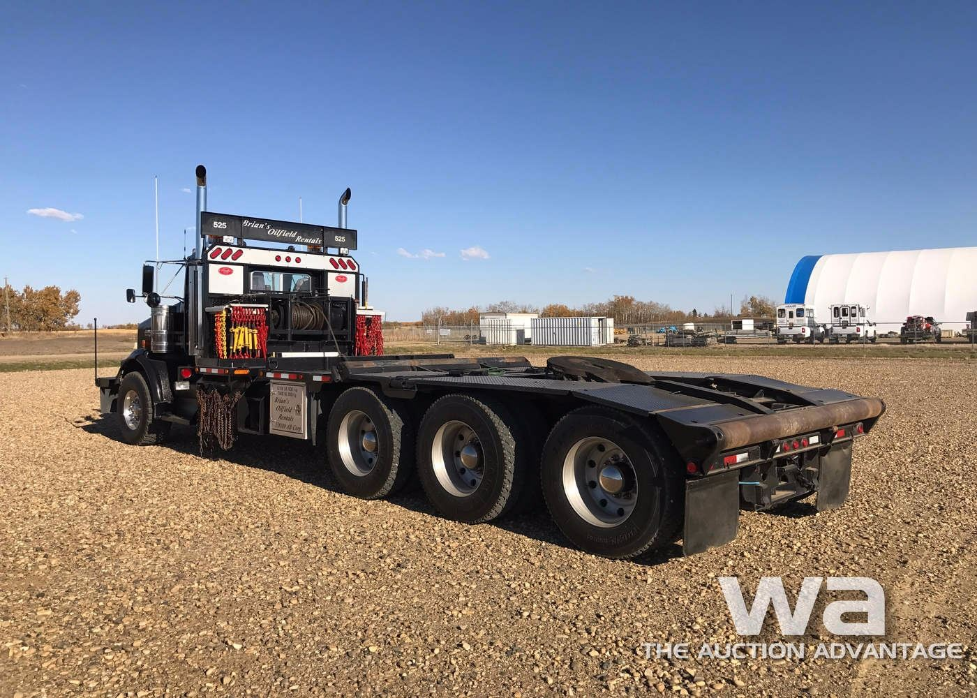 small resolution of  image 5 2007 kenworth t800 tri drive texas bed truck