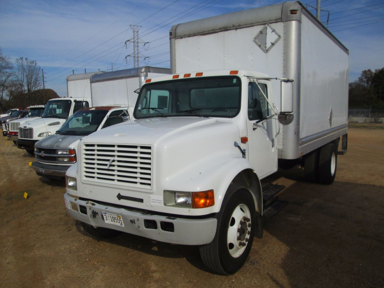 small resolution of image 1 1999 international 4700 box truck vin sn 1htscabm9xh217812 s