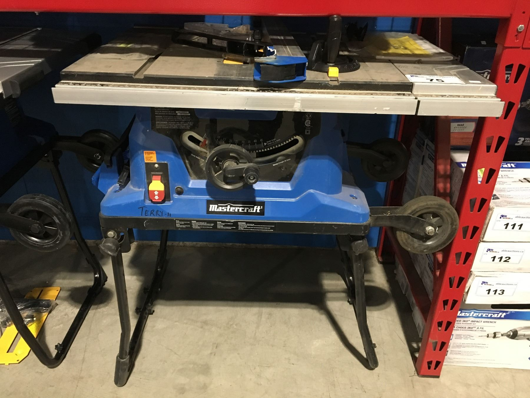medium resolution of mastercraft 10 table saw with fold roll stand parts repair maybe mastercraft 10 table saw diagram