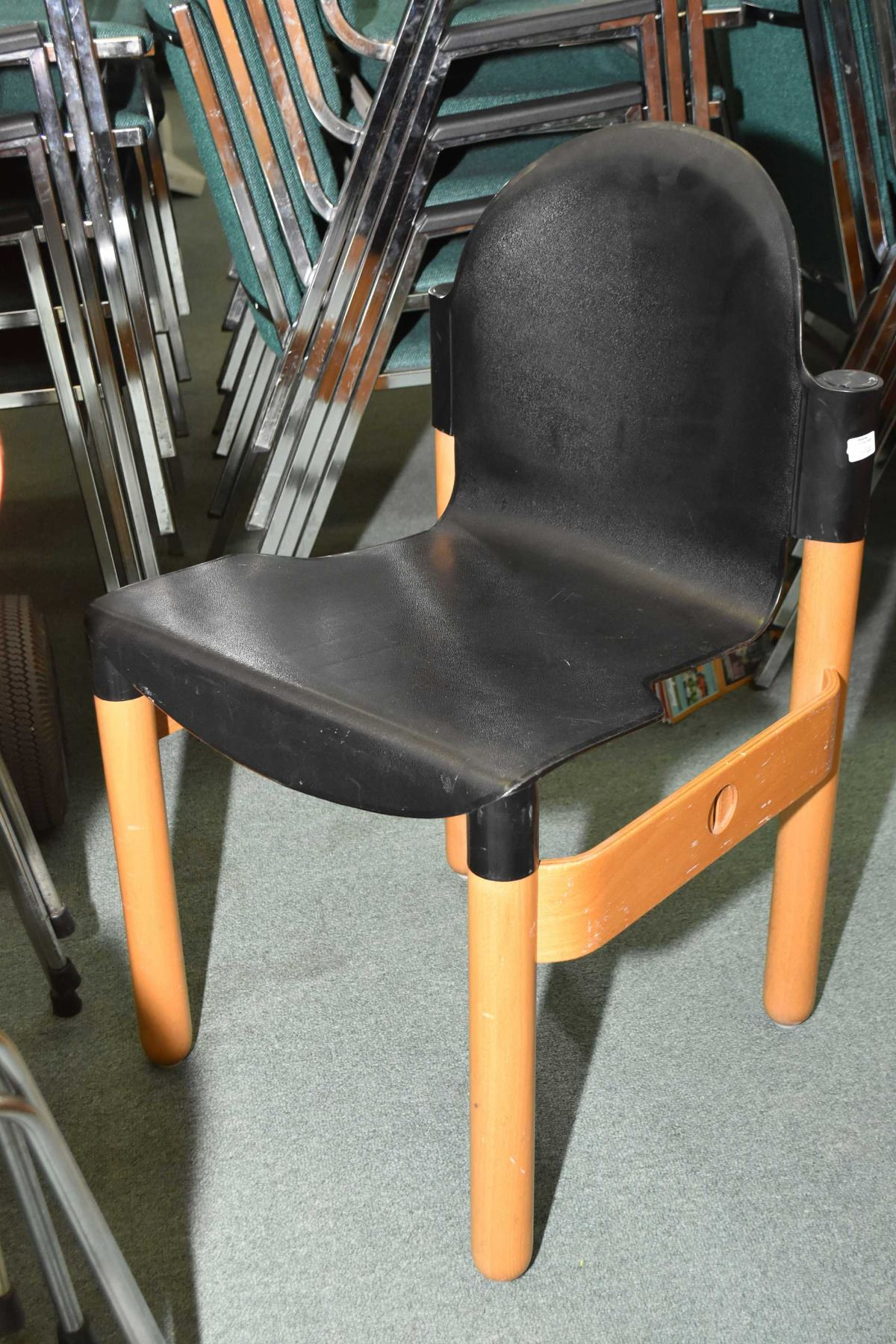 Flex Chairs Six West German Gerd Lange For Thonet Flex 2000 Stacking Chairs