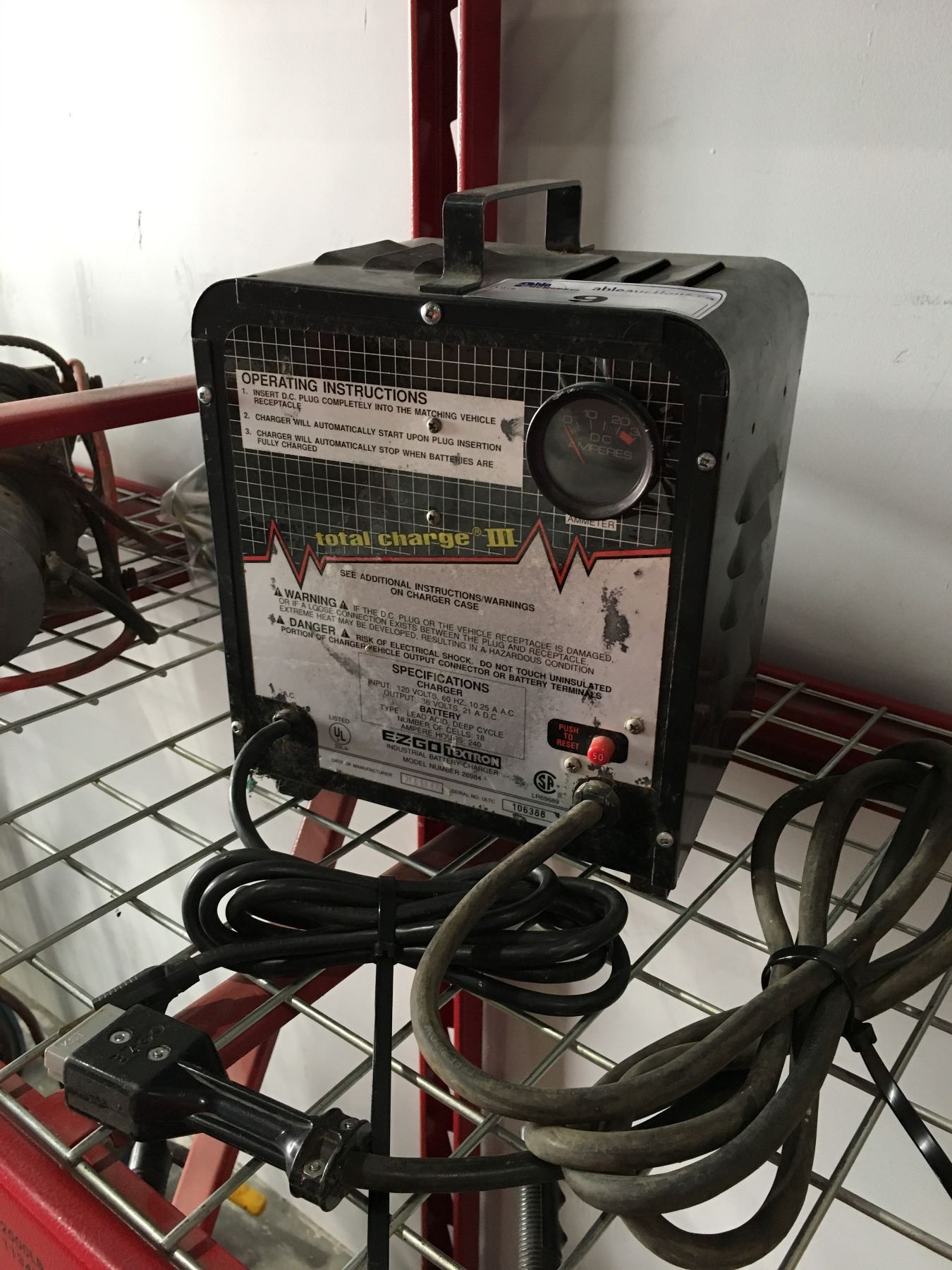 hight resolution of  image 2 ez go textron industrial battery charger for ez go golf cart