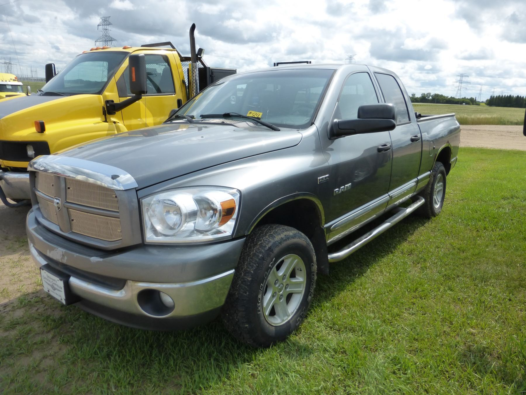 small resolution of image 1 2008 dodge ram 1500 4x4 crew cab truck