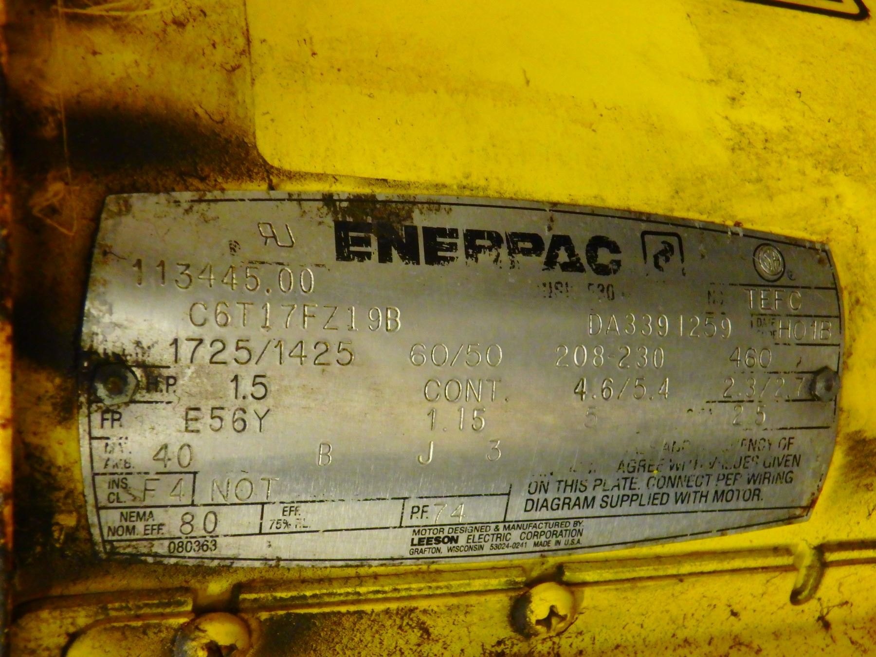 small resolution of  image 4 enerpac air hydraulic pump 5000 psi 2 gallon w guage