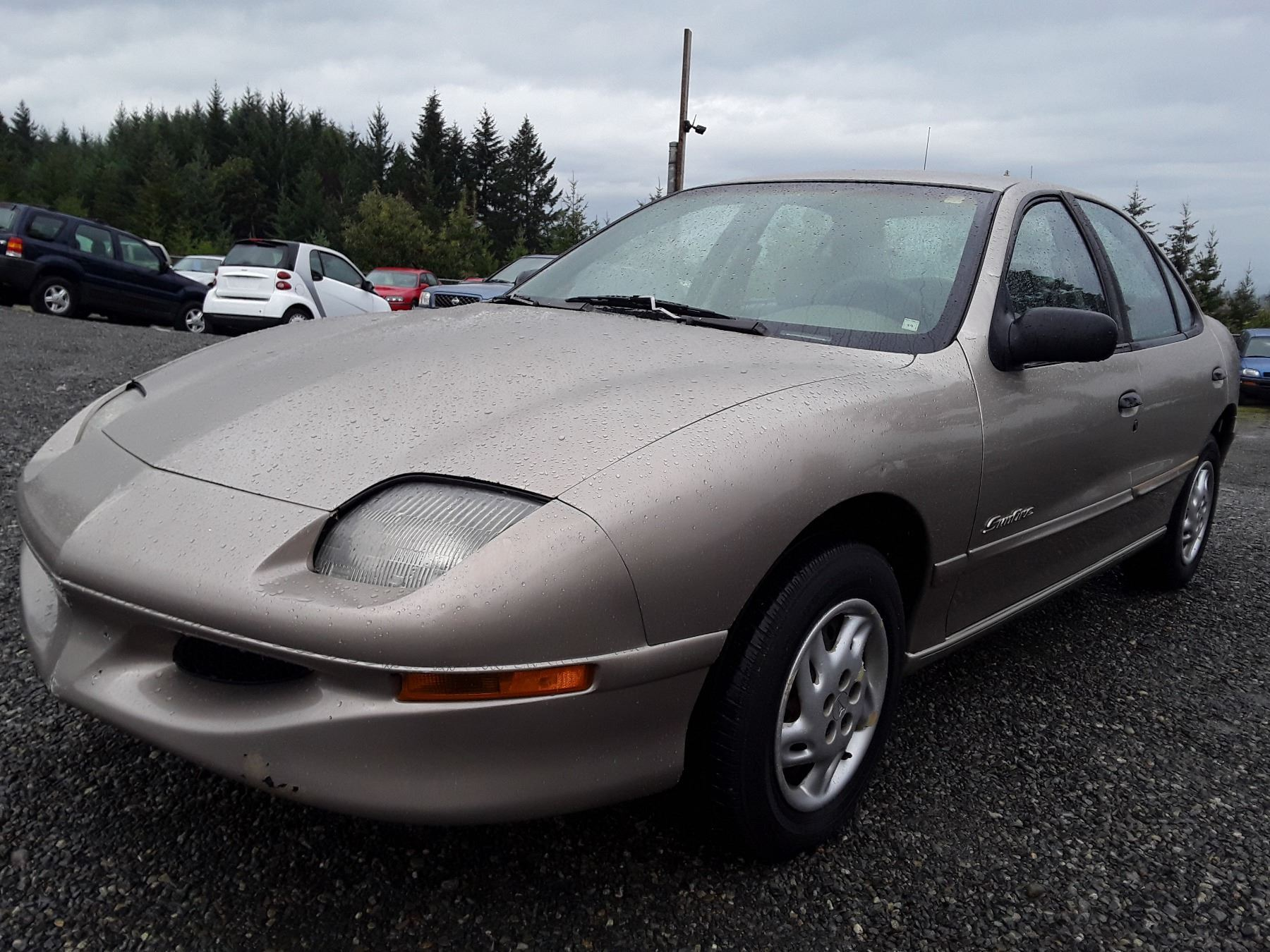 small resolution of image 1 m5 1996 pontiac sunfire se brown 151953 km s