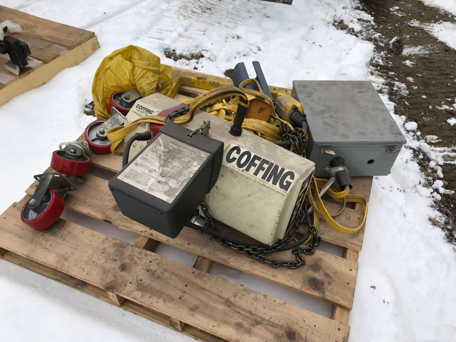 hight resolution of image 1 coffing 1 ton hoist