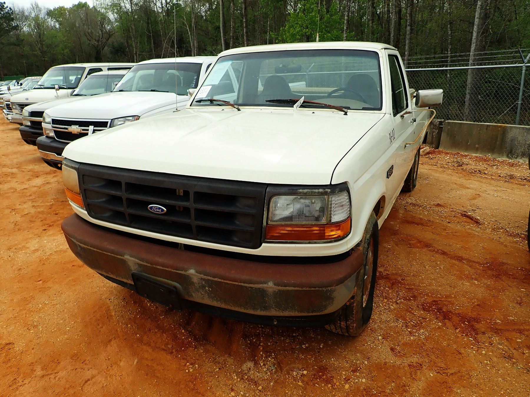 hight resolution of image 1 1996 ford f250 pickup vin sn zftef25n4tca71218 gas engine