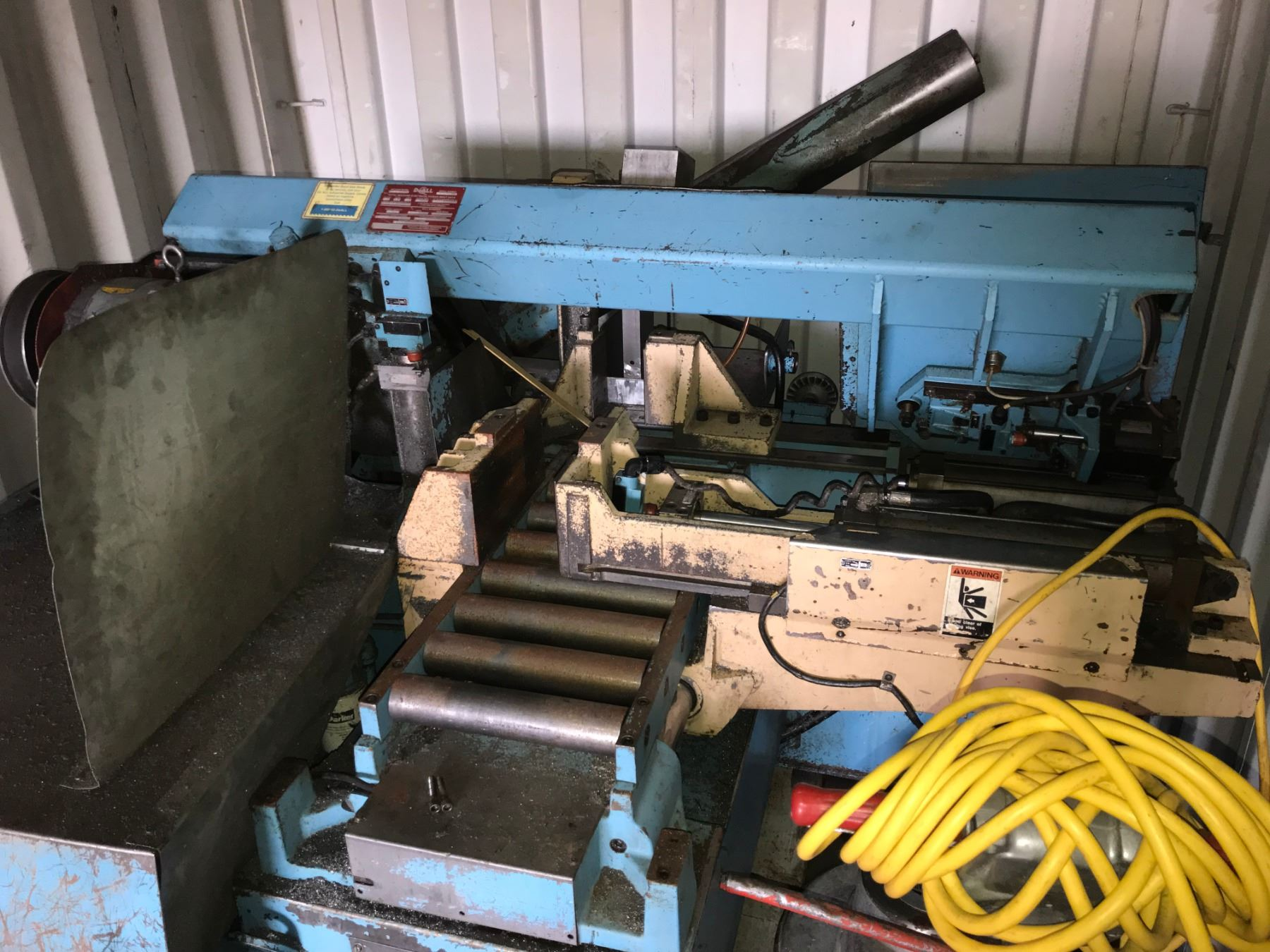 hight resolution of image 1 doall automatic feed horizontal cut off band saw m n