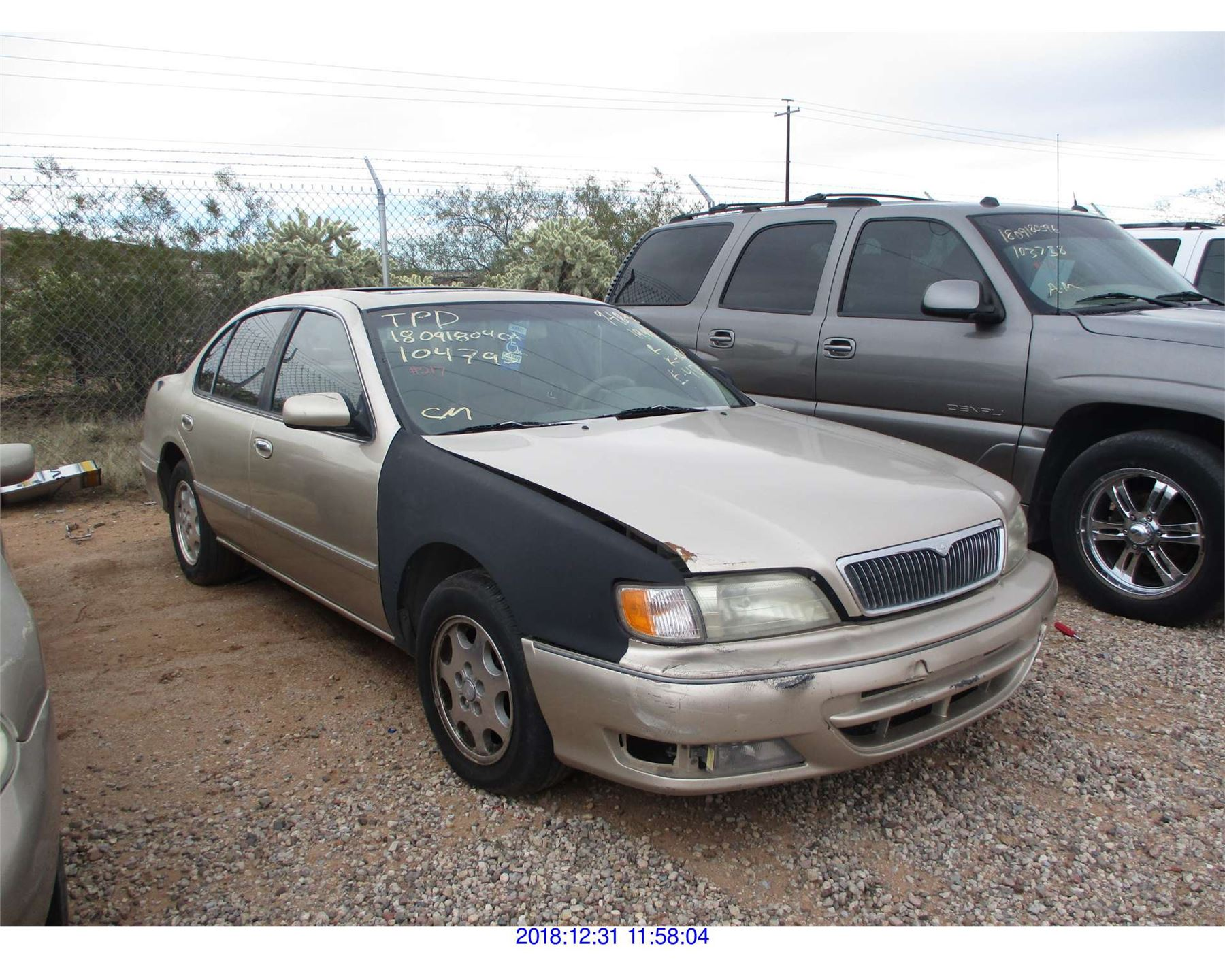 hight resolution of image 1 1998 infiniti i30 restored salvage