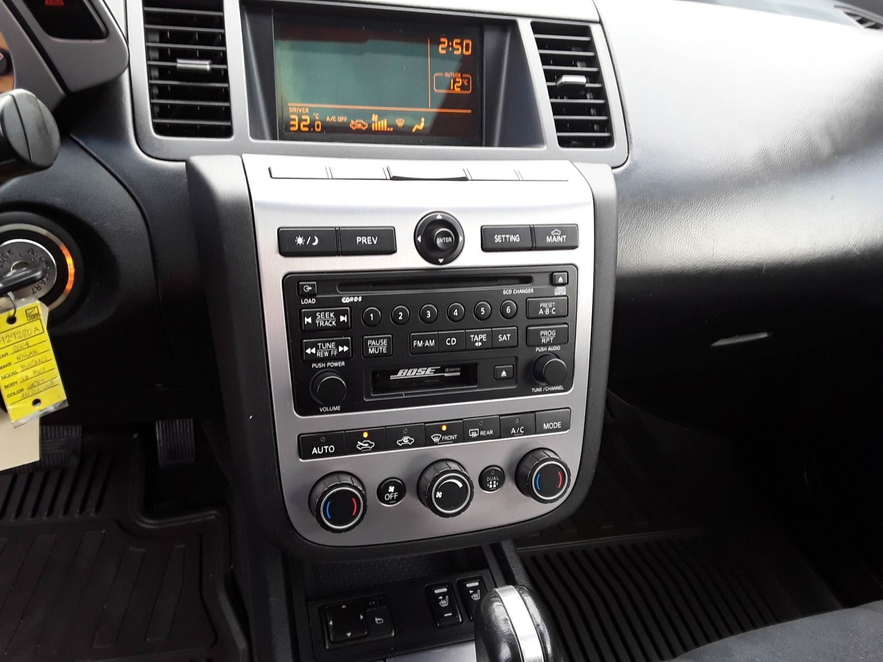 medium resolution of  image 9 n3 2004 nissan murano silver 225615 km s