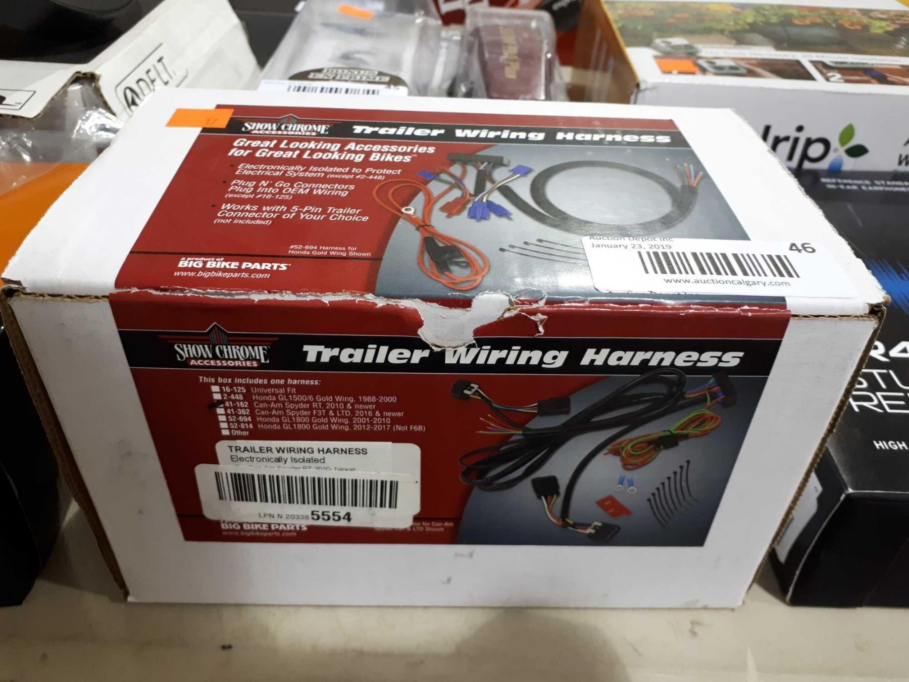 hight resolution of image 1 show chrome trailer wiring harness