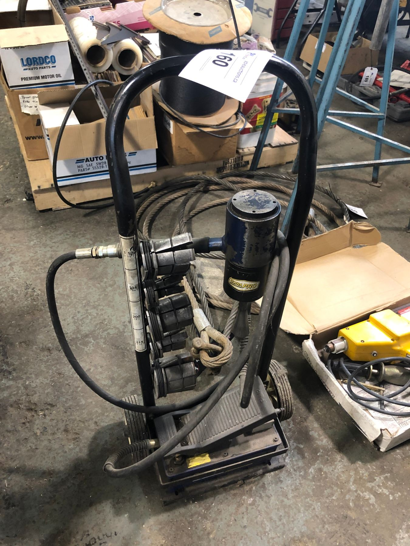 ultra pro hydraulic exhaust pipe
