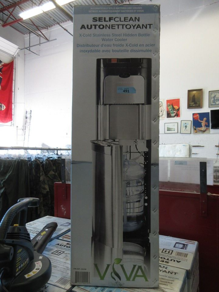 Viva Self Cleaning Water Cooler : cleaning, water, cooler, Clean, Stainless, Steel, Water, Cooler