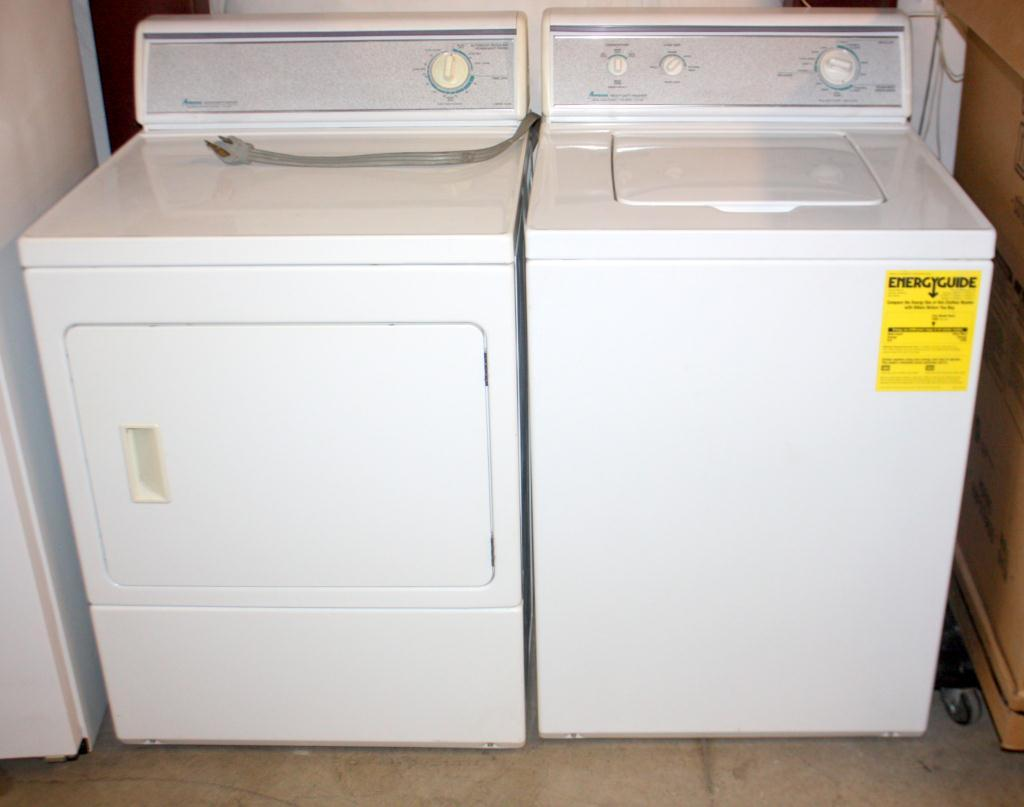 medium resolution of amana heavy duty washer and electric dryer loading zoom