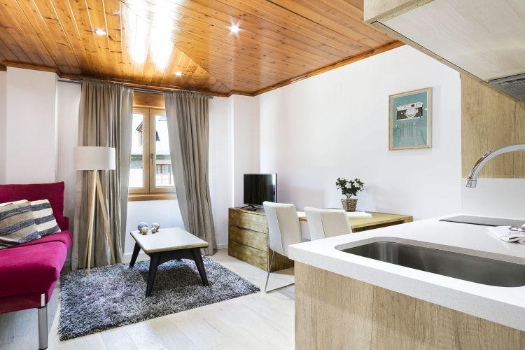 Apartamento en Vielha para 2 alquilar Aran Estudio