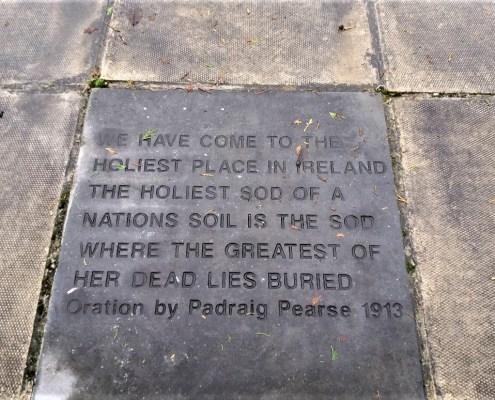 Wolfe Tone's grave Bodenstown Co Kildare