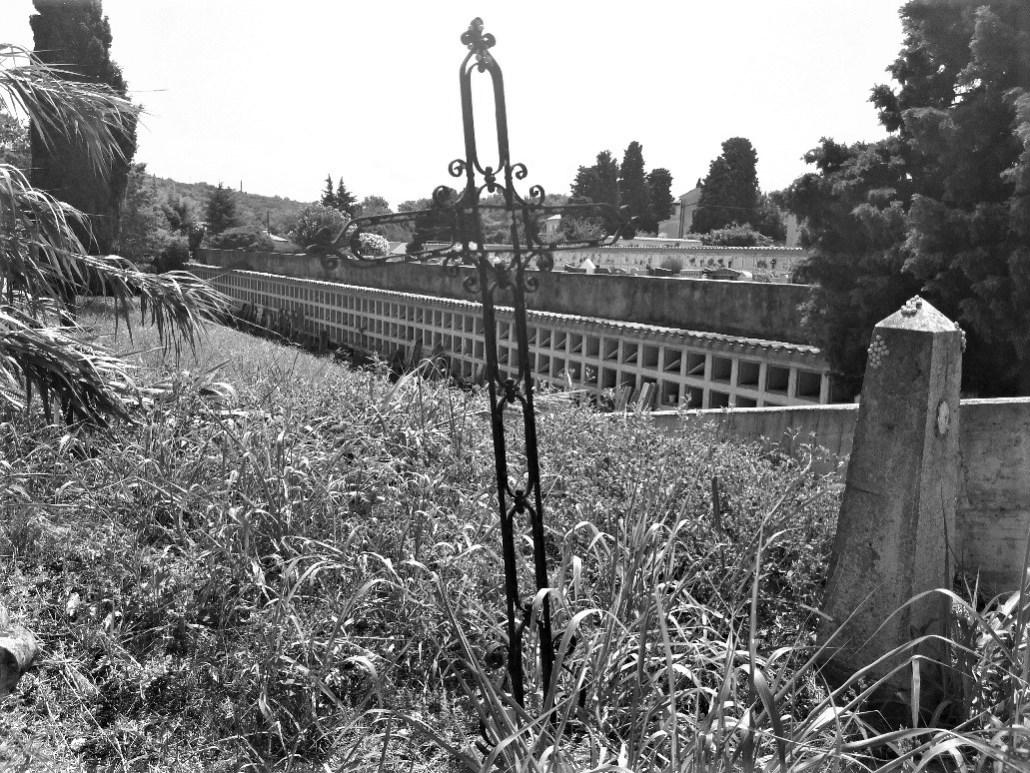 Old ossuary at Pokopališče Piran Cemetery