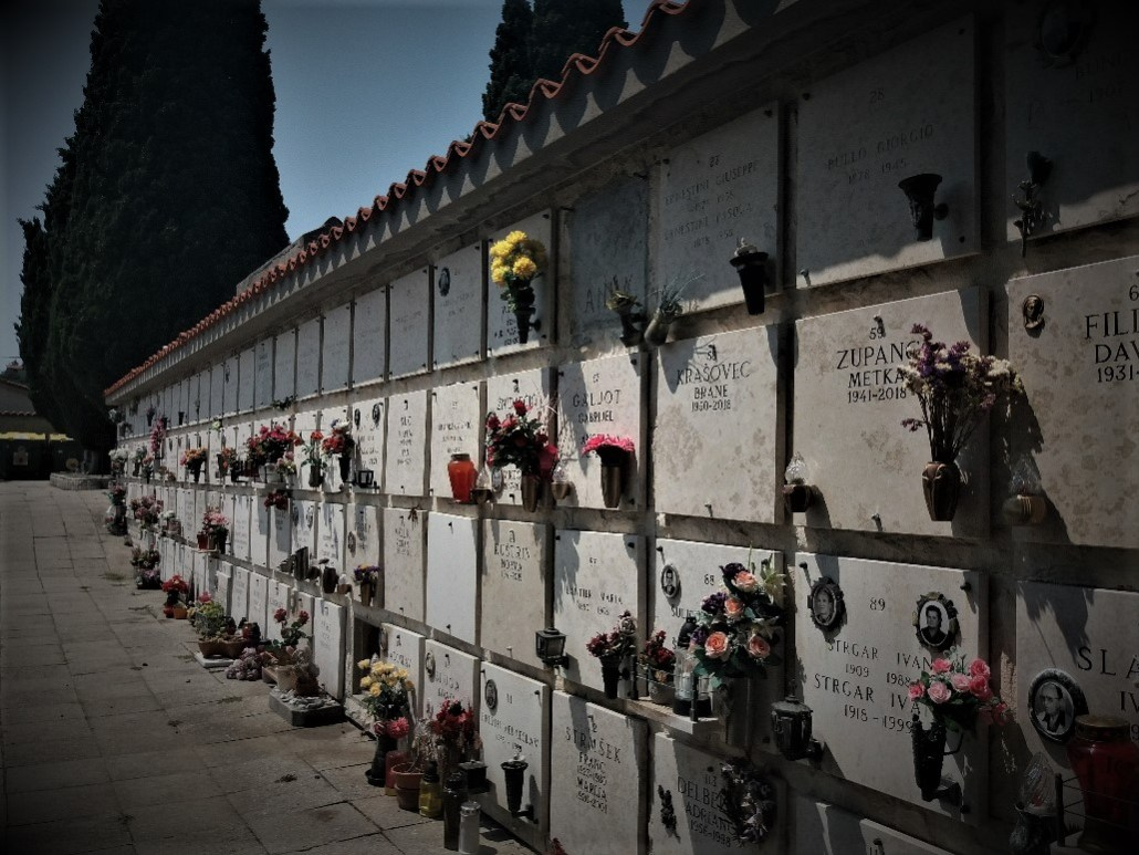 Ossuary at Pokopališče Piran Cemetery