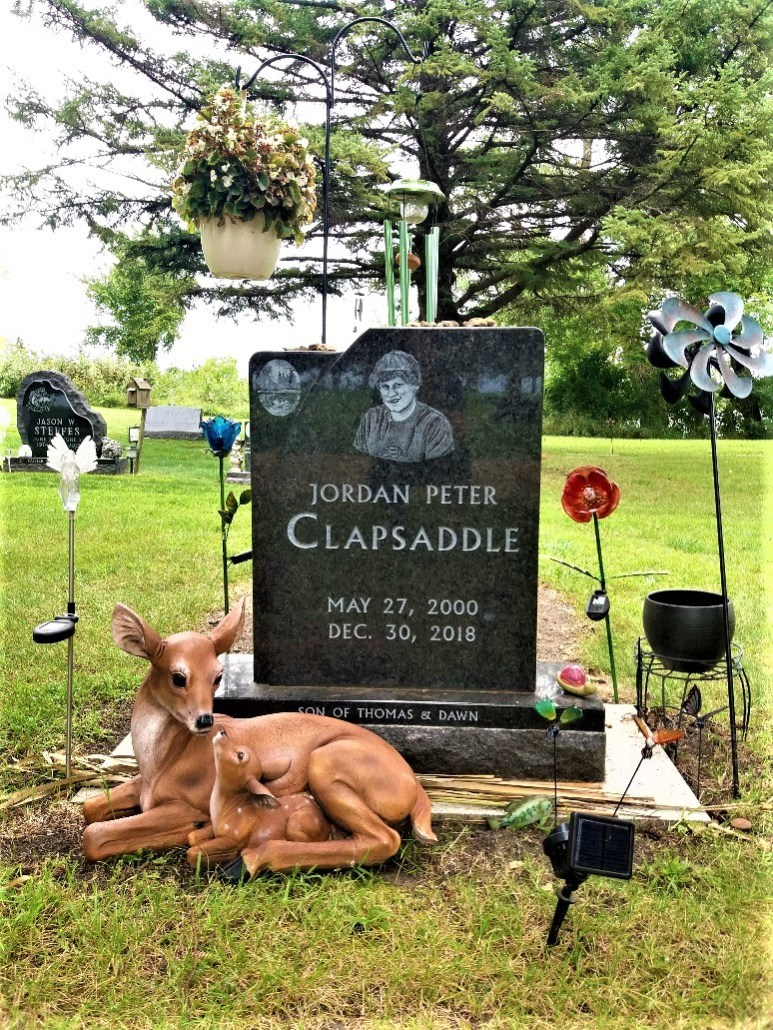Clapsaddle grave Lakeside Cemetery Balaton MN