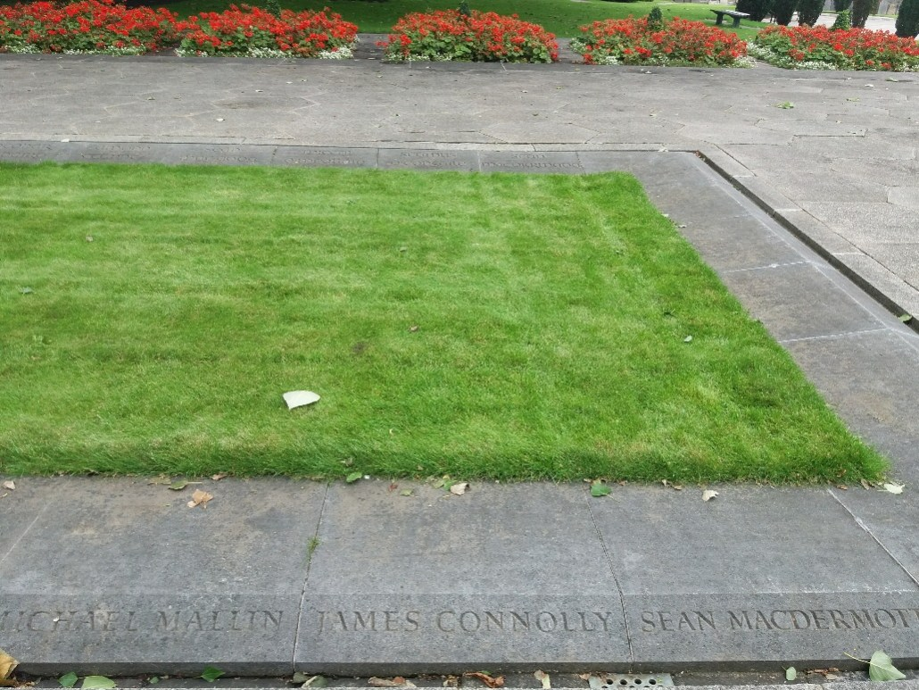 James Connolly's grave Arbour Hill Cemetery Dublin