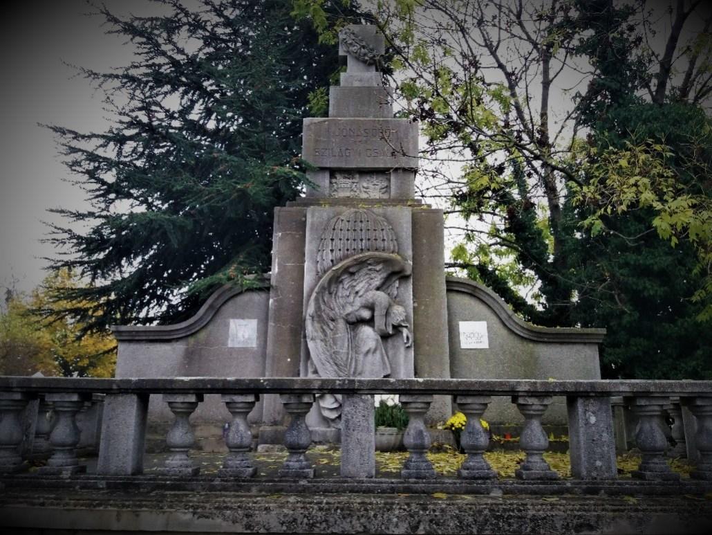 Szilagyi family tomb Sümeg Cemetery Hungary