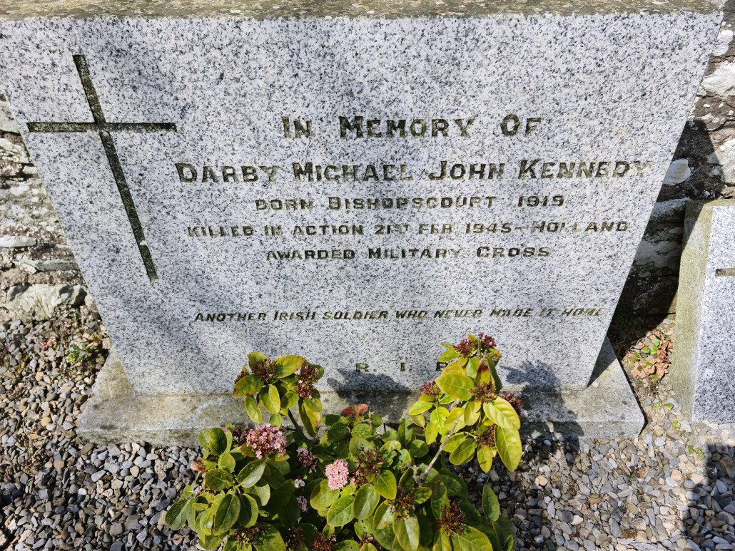 Kenney Family Plot - Darby Michael John Kennedy - Oughterard Cemetery Co Kildare
