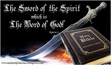 Image result for sword of the spirit