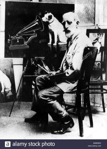 Francis Barraud painter of HMV logo Nipper the dog 1904