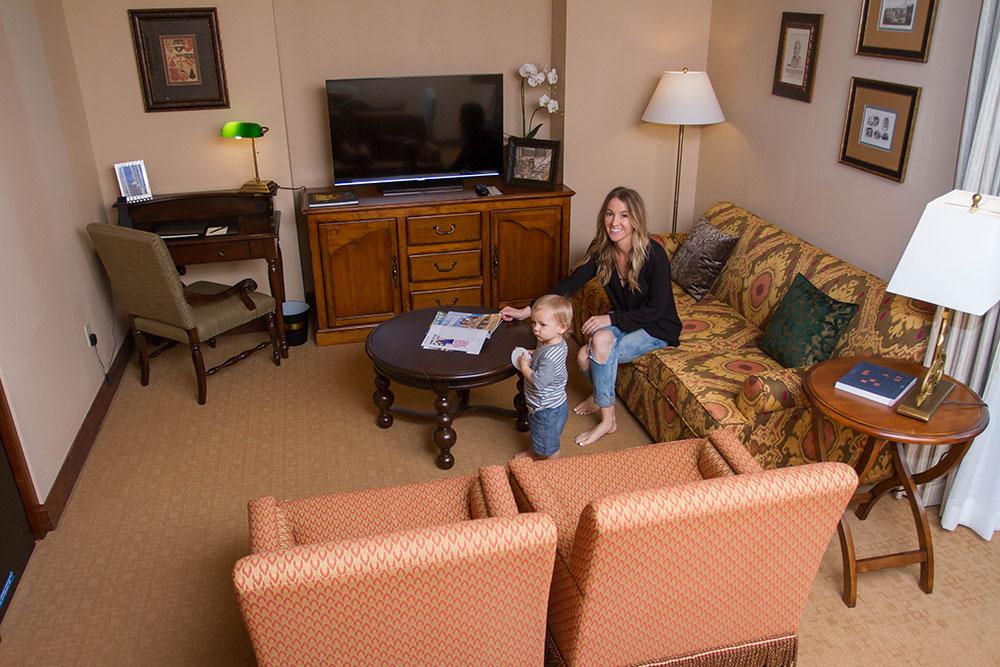 Hotel Granduca Living Room