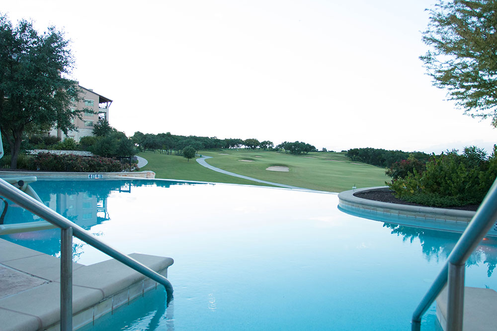 Infinity Pool and Golf Texas