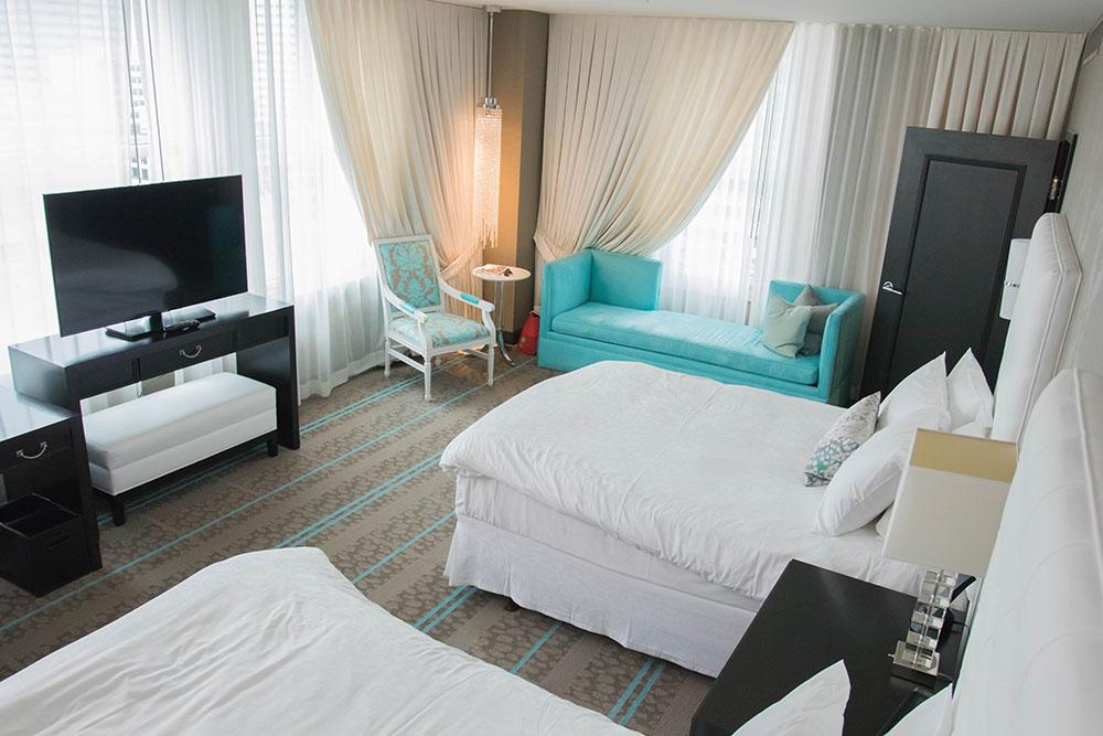 One Bedroom Suite - Bedroom - The Nines Portland Oregon