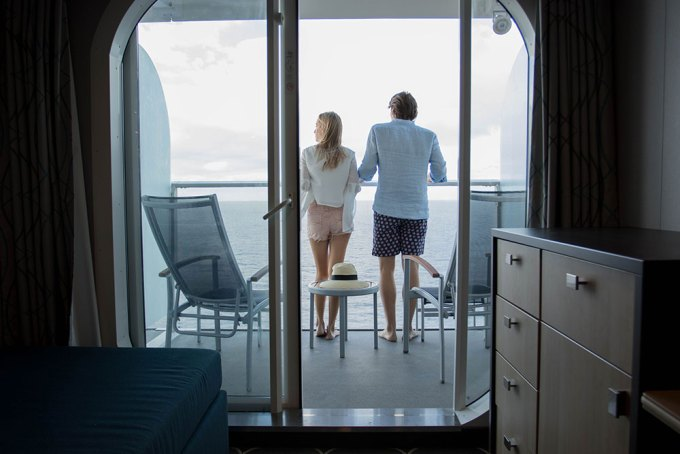 Stateroom Balcony - Harmony of the Seas