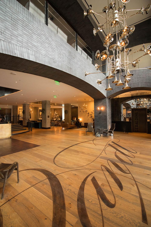 Lobby - Hotel Van Zandt - Austin Texas - Kimpton