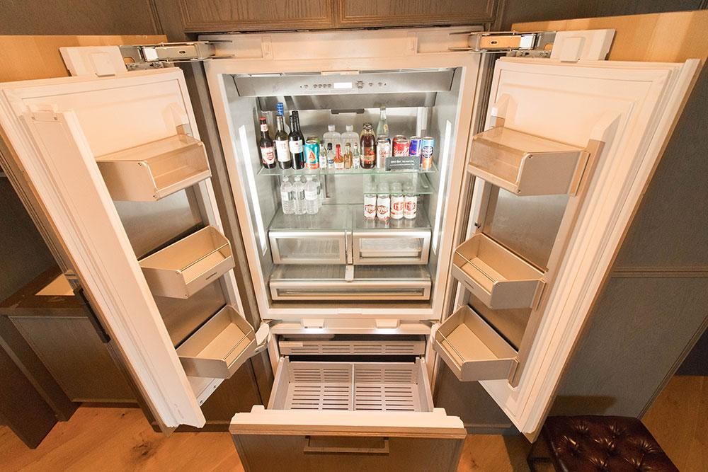 Loretta's Suite - Gaggenau Refrigerator - Hotel Van Zandt - Austin Texas - Kimpton