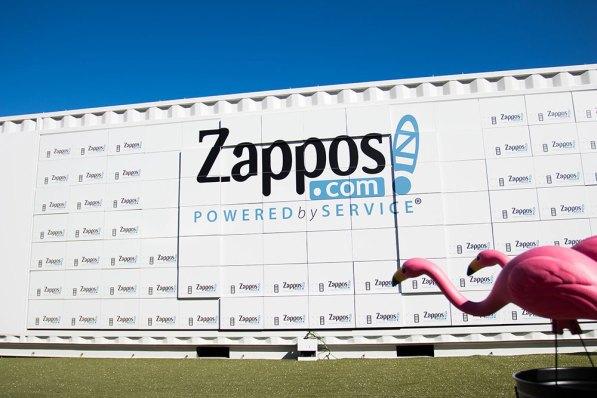 Zappos Moving Wall Austin Texas 3